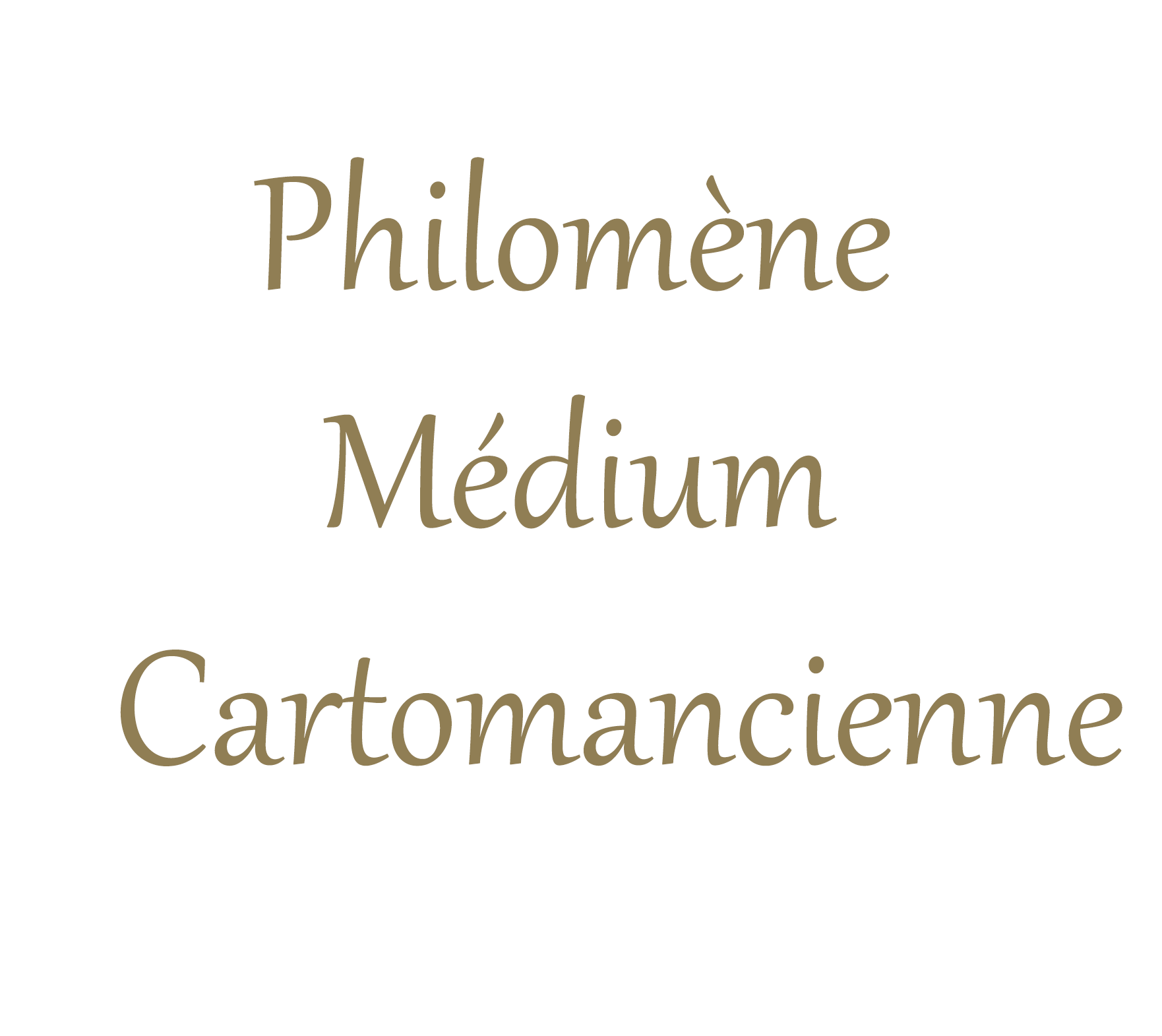 Philomène Médium Cartomancienne