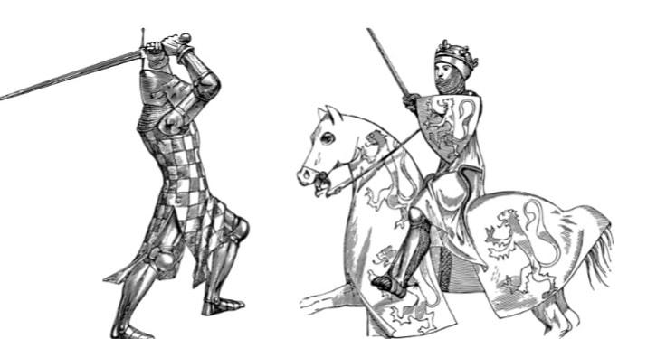Scène-histoire-médiévale-entités-résiduelles-médium-pure-de-naissance-Philomène-Médium-Cartomancienne