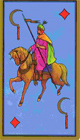 signification-tarot-persan-carte-cavalier-faucille